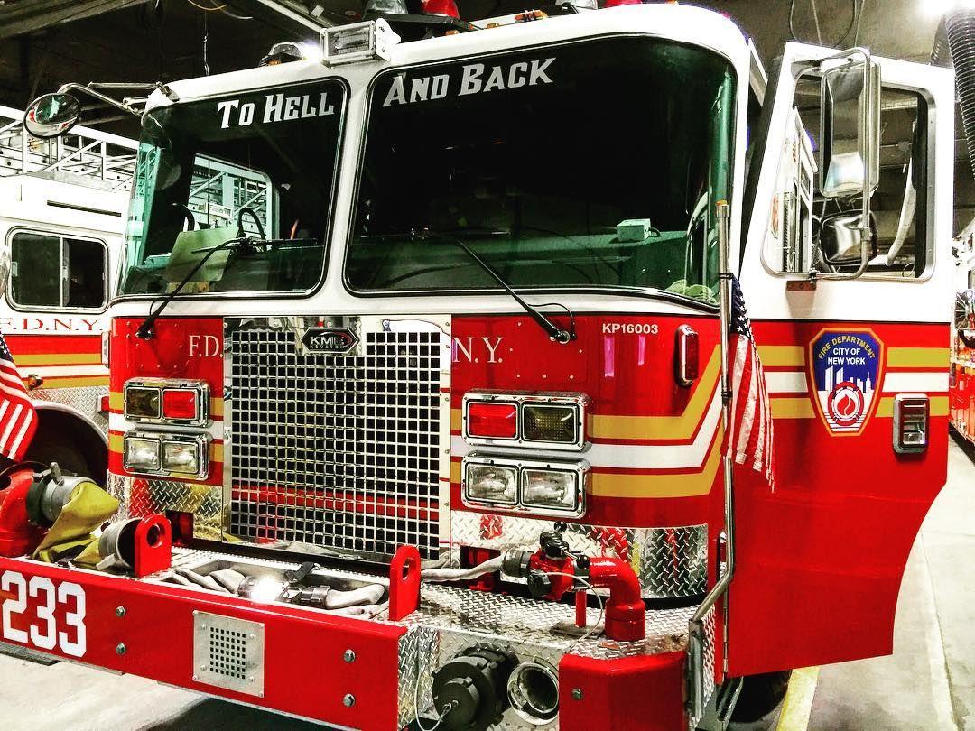 Brand New Fdny Kme Engine 233 By Themajestirium1 Fire Trucks Fdny Firefighter