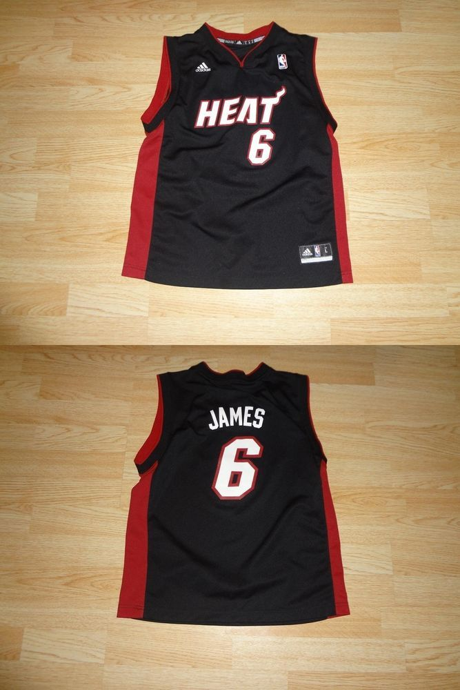 new concept 2d0c5 0d21d Youth #Miami Heat Lebron James L (14/16) Adidas () Jersey ...