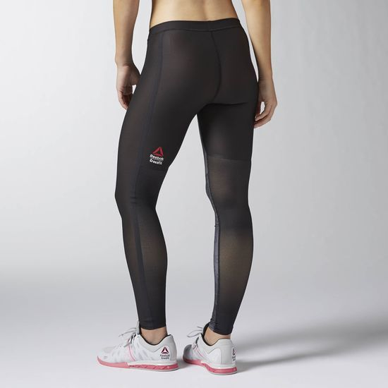 Reebok CrossFit PWR6 Compression Tight Built With Kevlar® - Black ... 8656ef3a8