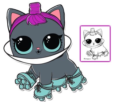 Pin De Kerlin Cr En Dibujos Munecas Lol Dibujos Gatos Kawaii