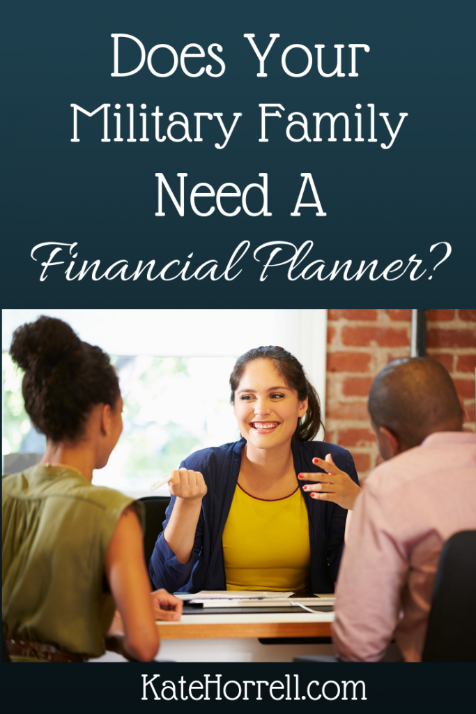 When Should A Military Member Hire A Financial Planner Financial