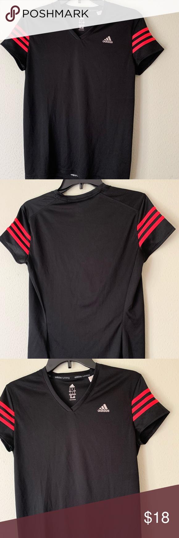 Repetido rasguño Alacena  Adidas in 2020   Beautiful shirt, Stripe tshirt, Black adidas