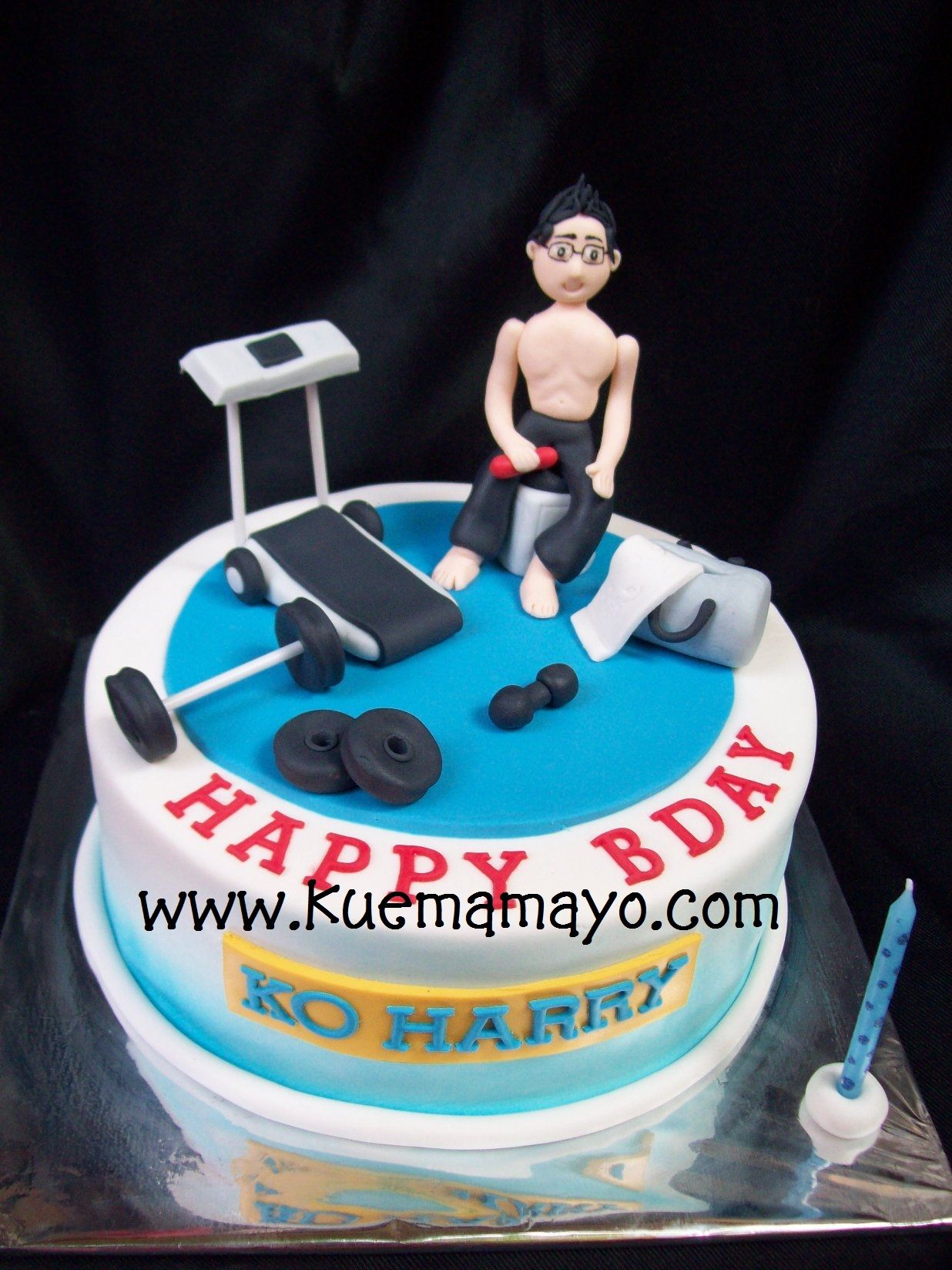 Pin By Annie Hutchins On Cakes Fitness Cake Cake Gym Cake