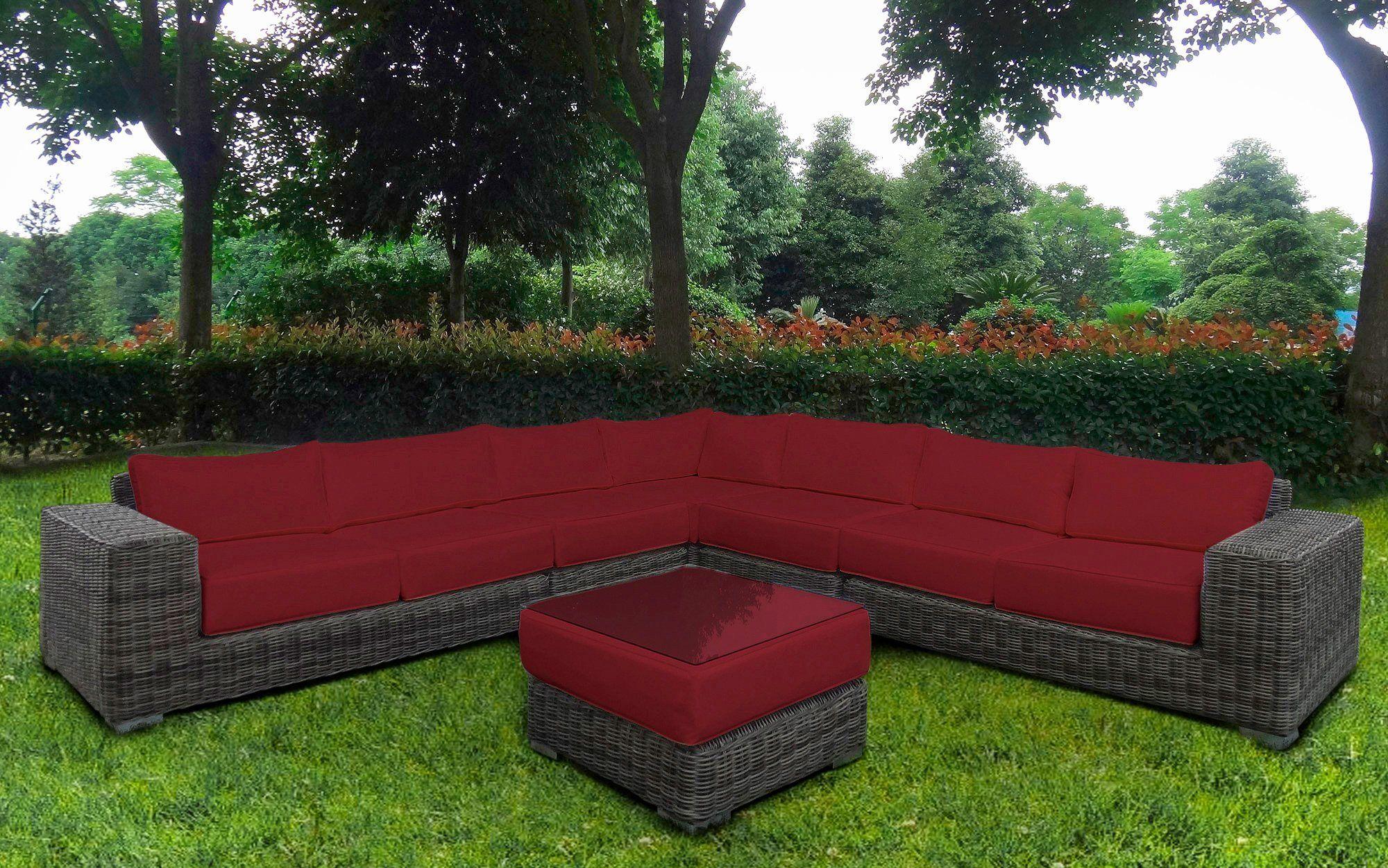Baidani Loungeset Sensation 21 Tlg Ecklounge Tisch 67x67x40 Cm Polyrattan Jetzt Bestellen Unter Https Moeb Polyrattan Lounge Mobel Loungemobel Garten