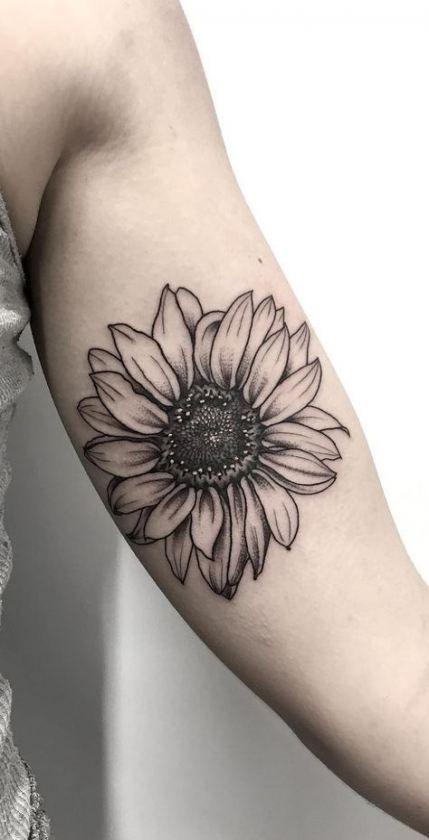 Photo of Tattoo Sunflower Wrist Sunflowers 50 ideas for 2019