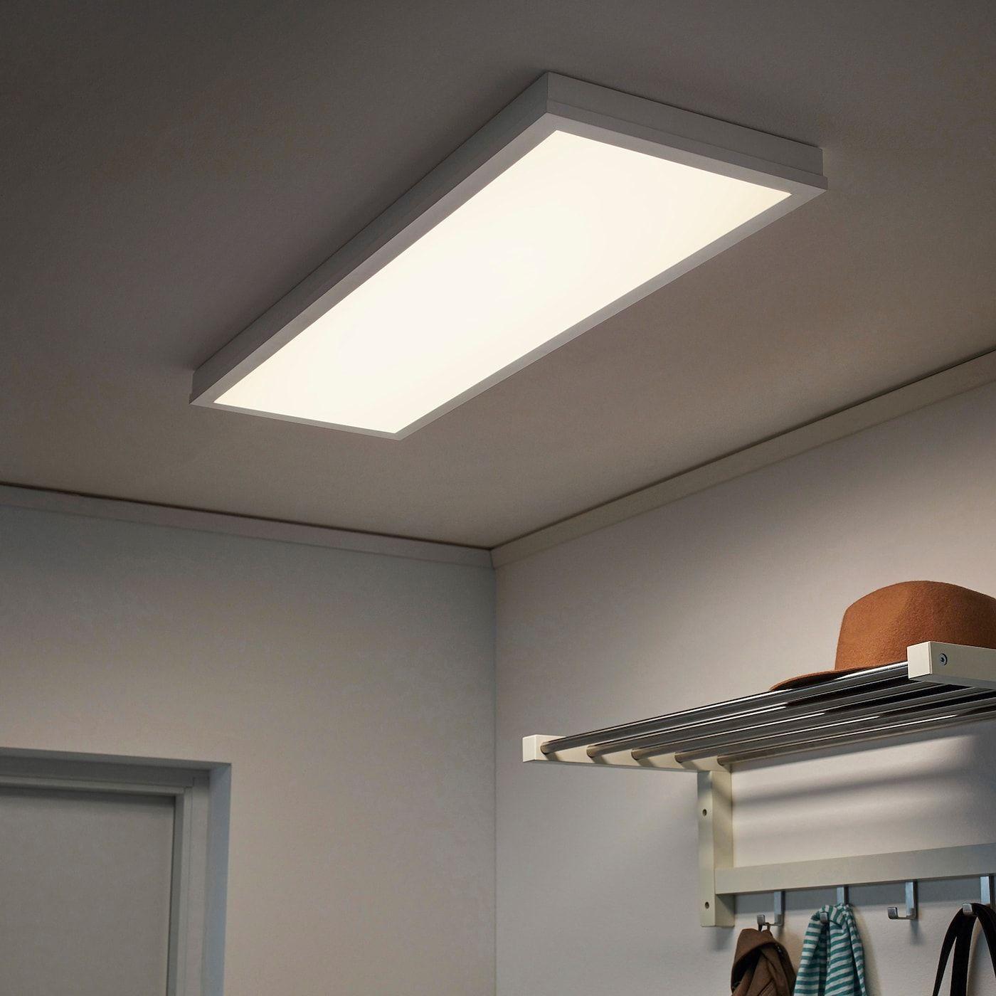 Floalt Led Light Panel Dimmable White Spectrum 12x35 Ikea Led Panel Light Led Lights Light Panel