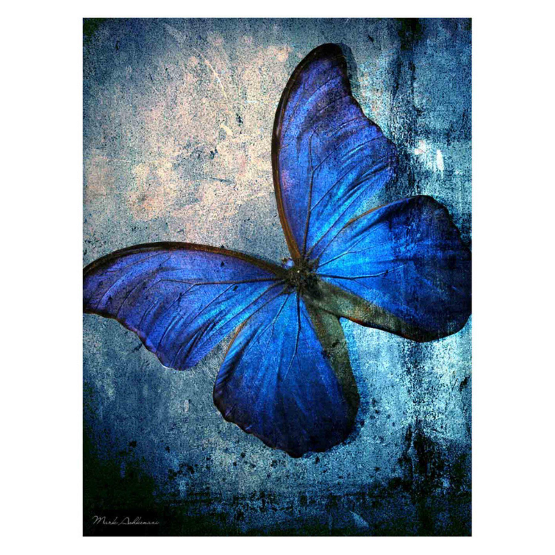 Louis Leonard Art Butterfly I By Mark Ashkenazi Canvas Wall Art Maa038 1824 Tuval Resimleri Tablolar Sanatsal Resimler