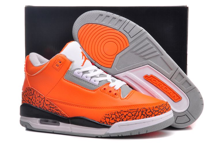 reputable site 6c536 b9685 Jordan Retro 3 Orange   Home   Mens Jordan   Air Jordan 3   Nike Air Jordan  3 III Retro Orange