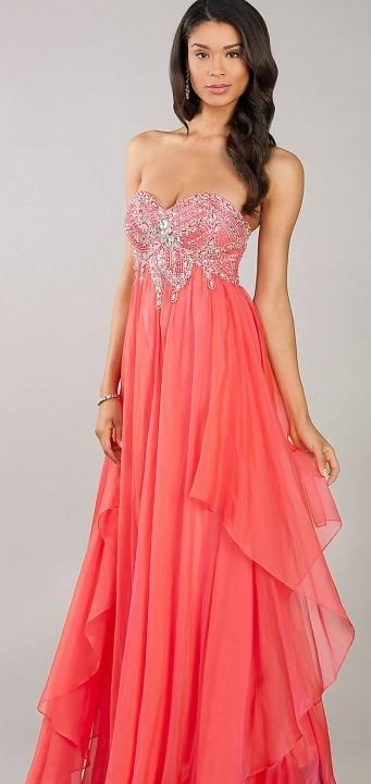 prom dress prom dresses Vestidos noche Pinterest Vestidos de