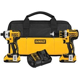DEWALT 2-Tool 20-Volt Lithium Ion Brushless Cordless Combo Kit the holy grail of all xmas presents the brushless thats right brushless oh did i mention its brushless dewalt drill and drill driver just the sight of it makes me feel ways i can not describe on any type of holiday list due to the graphic nature.