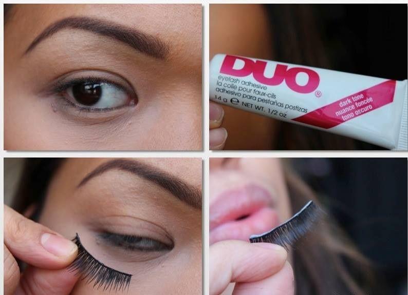 Do Eyelashes Grow Back Eye Makeup Pinterest Applying Fake