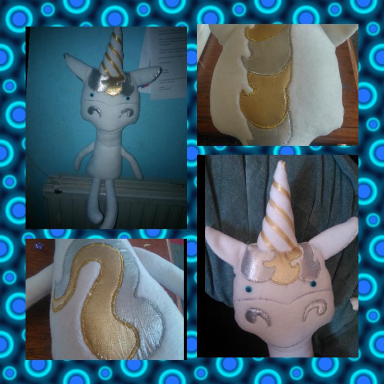 Unicorn softie - The Supermums Craft Fair
