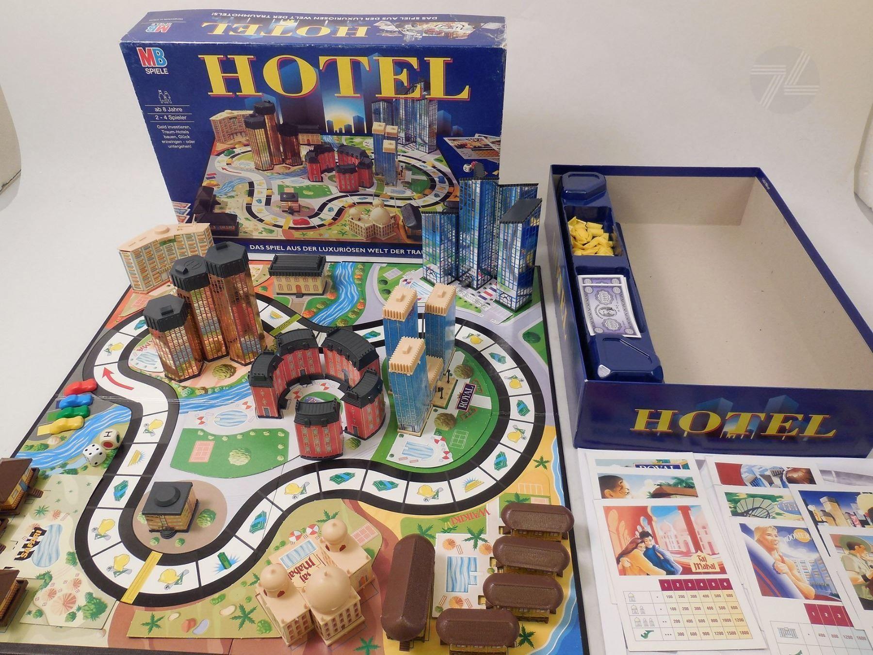 Hotel Brettspiel