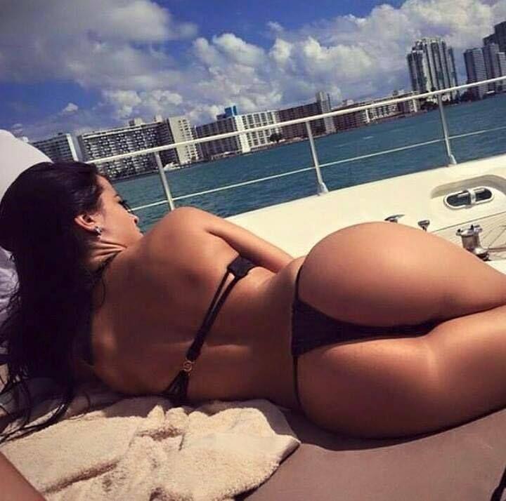 Gorgeous Brunette Big Ass