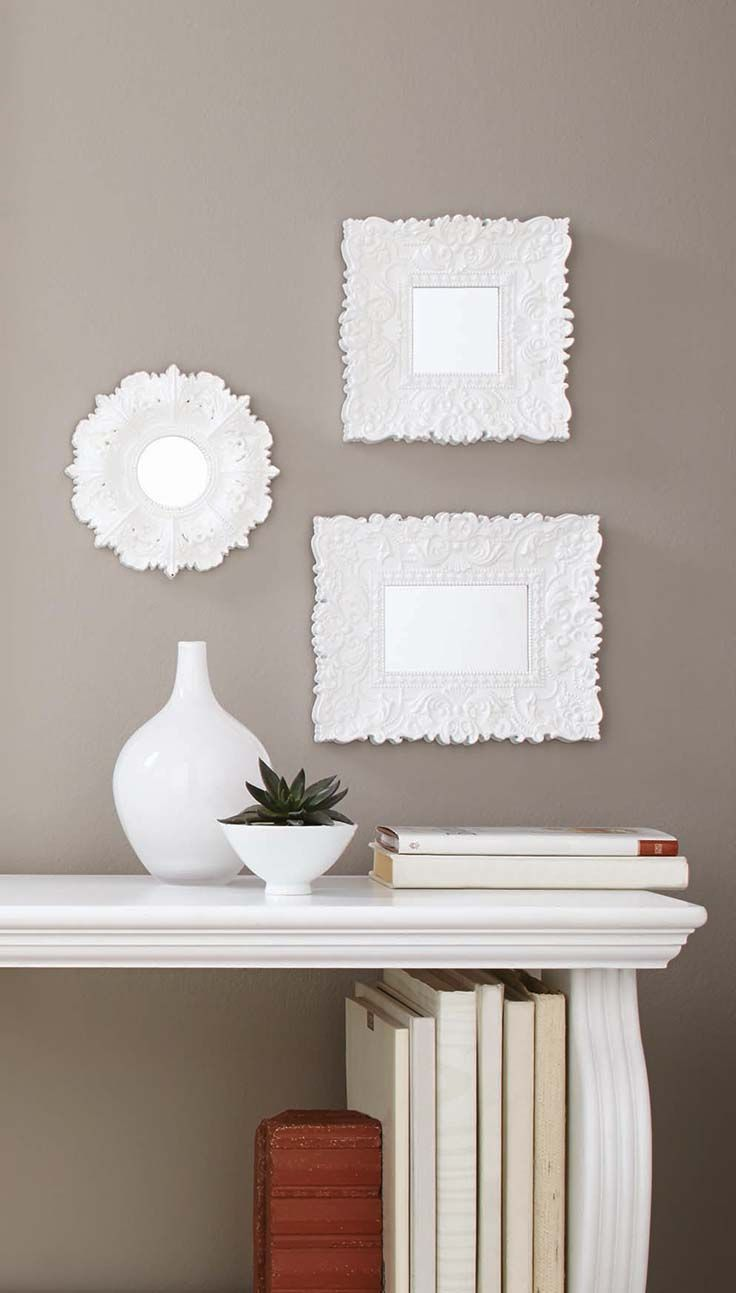Better Homes and Gardens Baroque Florence Wall Mirrors, Set of 3 ...