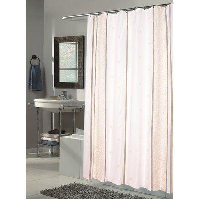 Wade Logan Oscar Single Shower Curtain In 2020 Fabric Shower