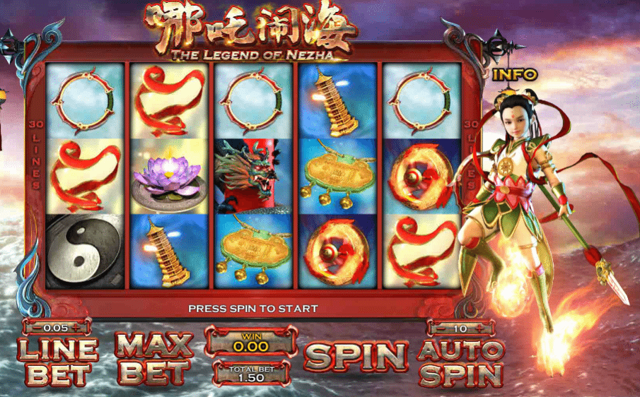 The Legend Of Nezha » FreeSlot Online » Click And Play Temas