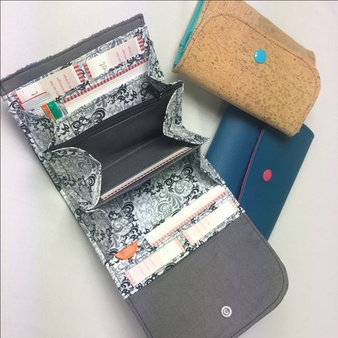 Portemonnaie – selbernähen.net … | Pinteres…