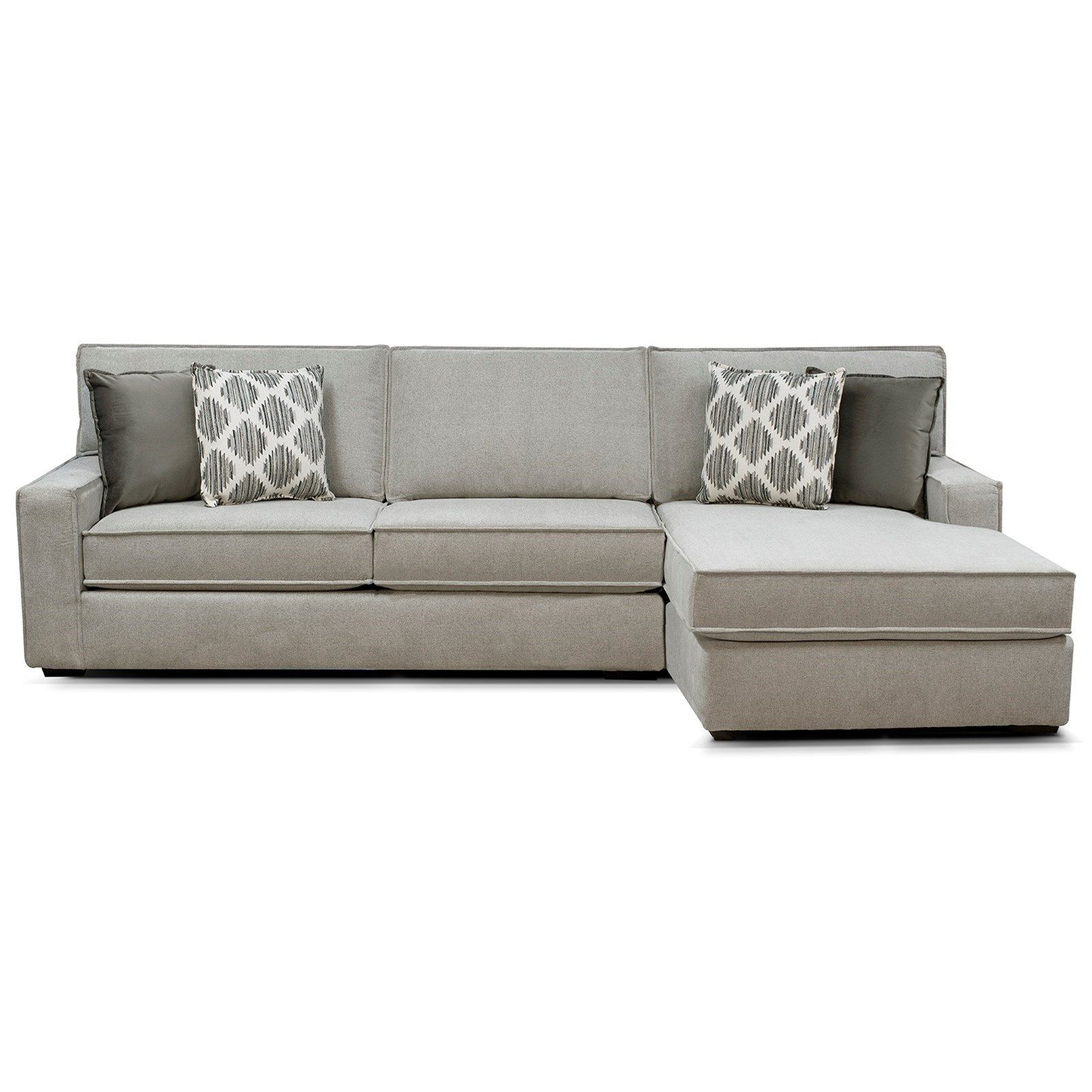 Evans Sectional With Chaise By England At Crowley Furniture