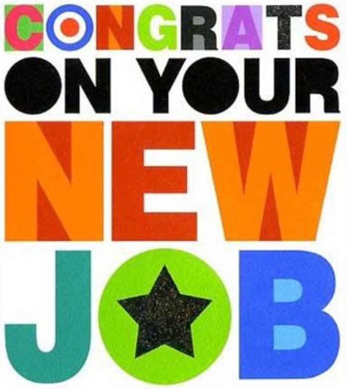 Congratulations Quotes New Job Position: Congrats On Your New Job. Grateful In Advance