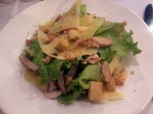 Restaurante Ipê - Entrada: Salada Cesar