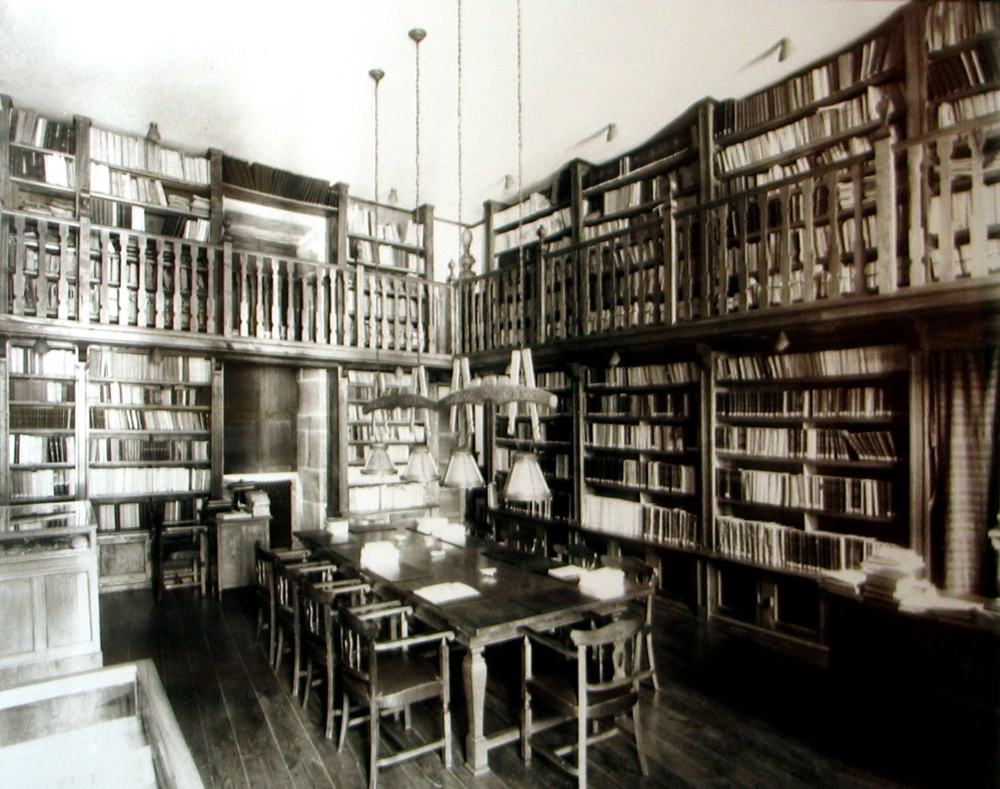 biblioteca antigua sede | Santiago. Fotos antiguas | Pinterest ...