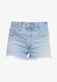501® ORIGINAL - Jeansshorts - light-blue denim @ Zalando.se