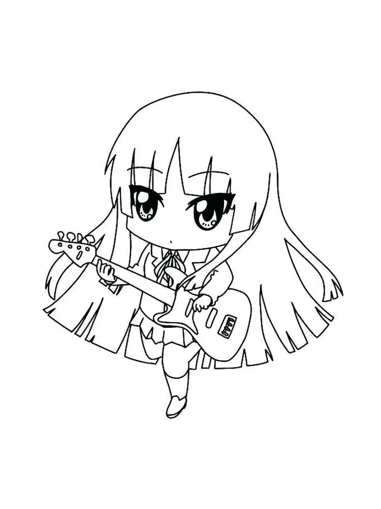 Anime Coloring Pages Com Chibi Coloring Pages, Cute Coloring Pages,  Disney Princess Coloring Pages