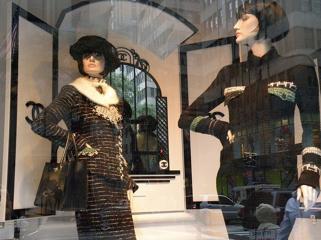 saks fifth avenue chanel windows by nyc style little cannoli via flickr