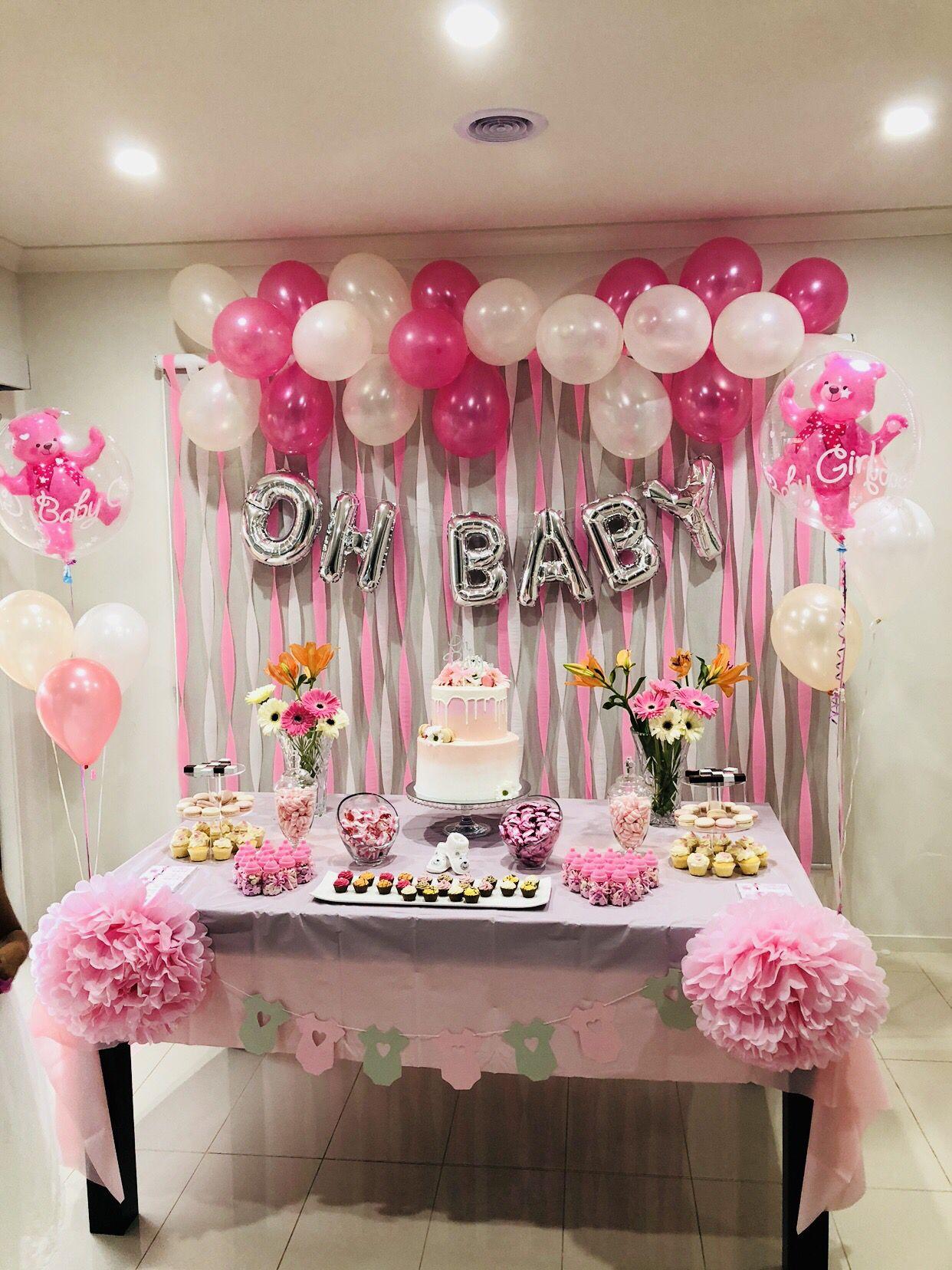 Decoracion Para Baby Shower : decoracion, shower, Shower, #Baby, Decoracion, Cumpleaños,, Fiesta, Niña,, Decoraciones, Niños