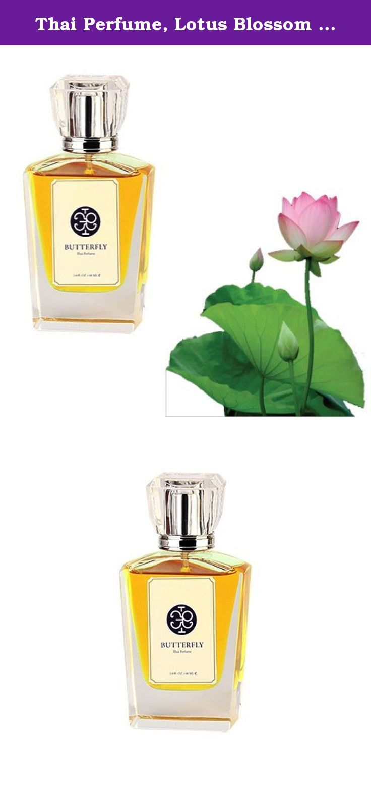 Thai Perfume Lotus Blossom Scent Eau De Parfum For Unisex With