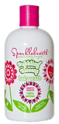 $9.99 Bubbling Blooms Body Wash: Evening primrose pampers your skin.  Moisturizing sweet almond protein helps you say bye-bye to dry.  Foam fabulous natural coconut and sugar are your best bubble buddies.