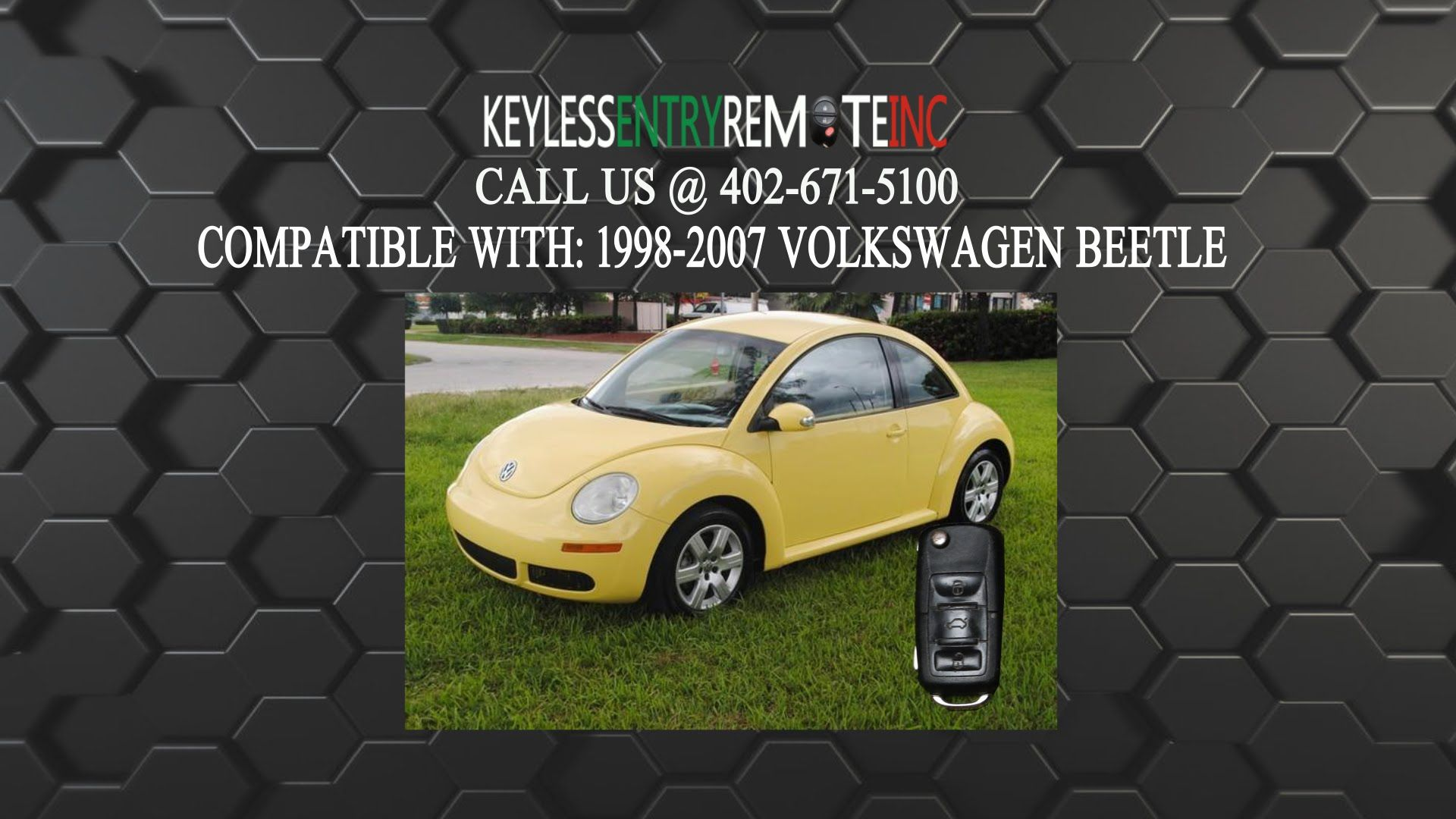 How To Replace Volkswagen New Beetle Key Fob Battery 1998