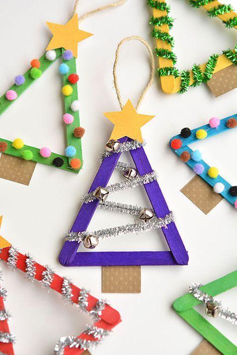 12 Cute Christmas Crafts For Kids Novyj God Pinterest