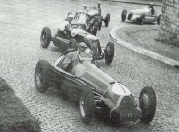 """ motorsport moments: the first ever formula 1 race - Nice, 1946 The first official Formula 1 race took place in Nice, France in the year 1946. It was titled the ""V Grand Prix de..."