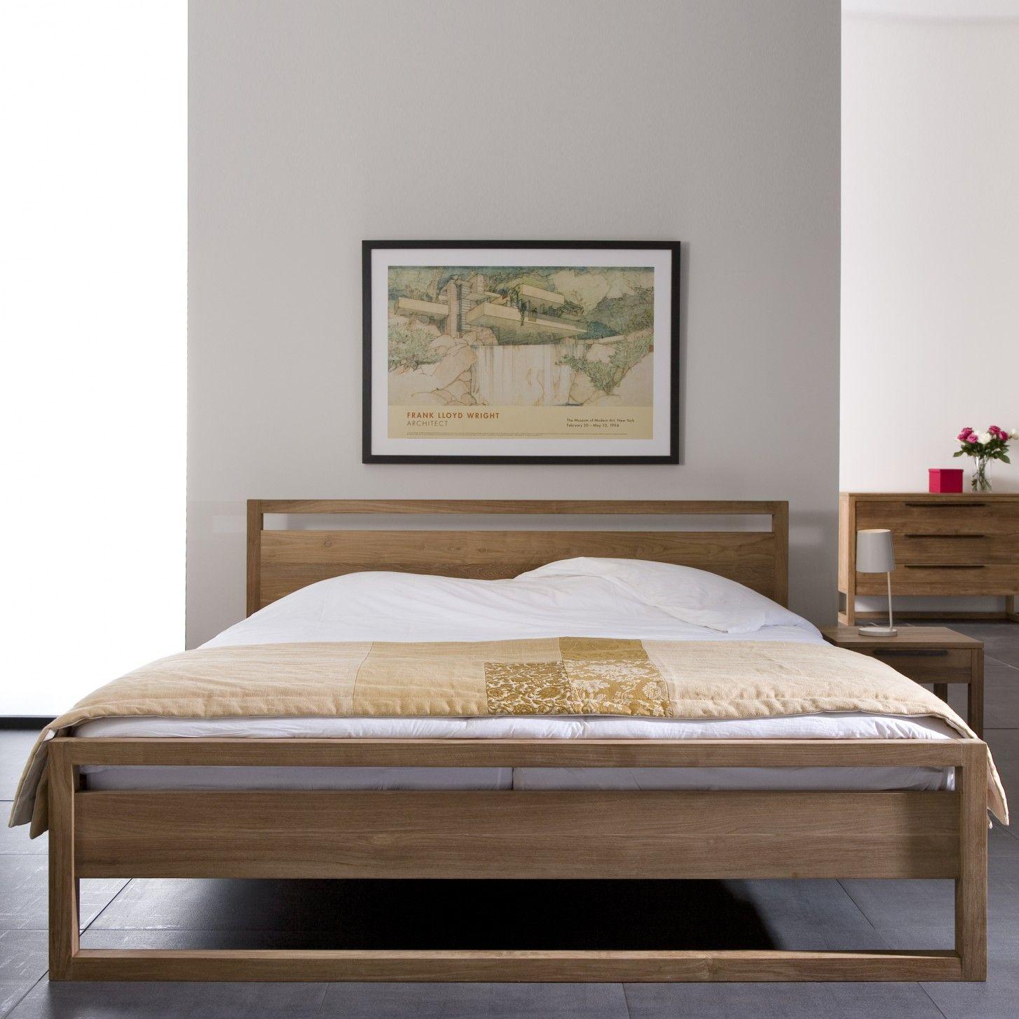 Ikarus Betten light frame bett ethnicraft bei ikarus de bett schlafzimmer