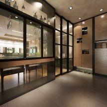 Modern Hdb Kitchen Home Bar Created By Cad Associates