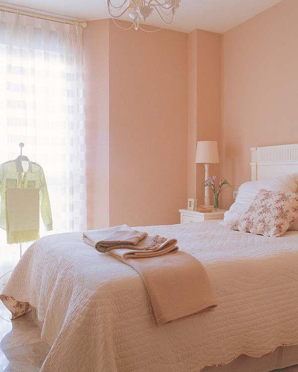 Un Piso Luminoso De 58 M Decoracion De Paredes Dormitorio Colores De Casas Interiores Colores Para Dormitorio