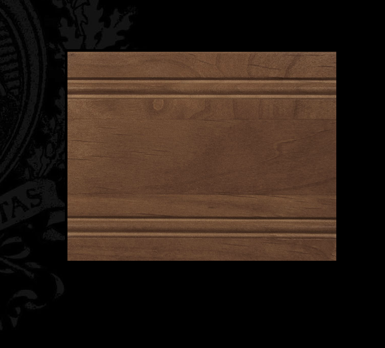 Benedettini Cabinets Alder Wood, Praline
