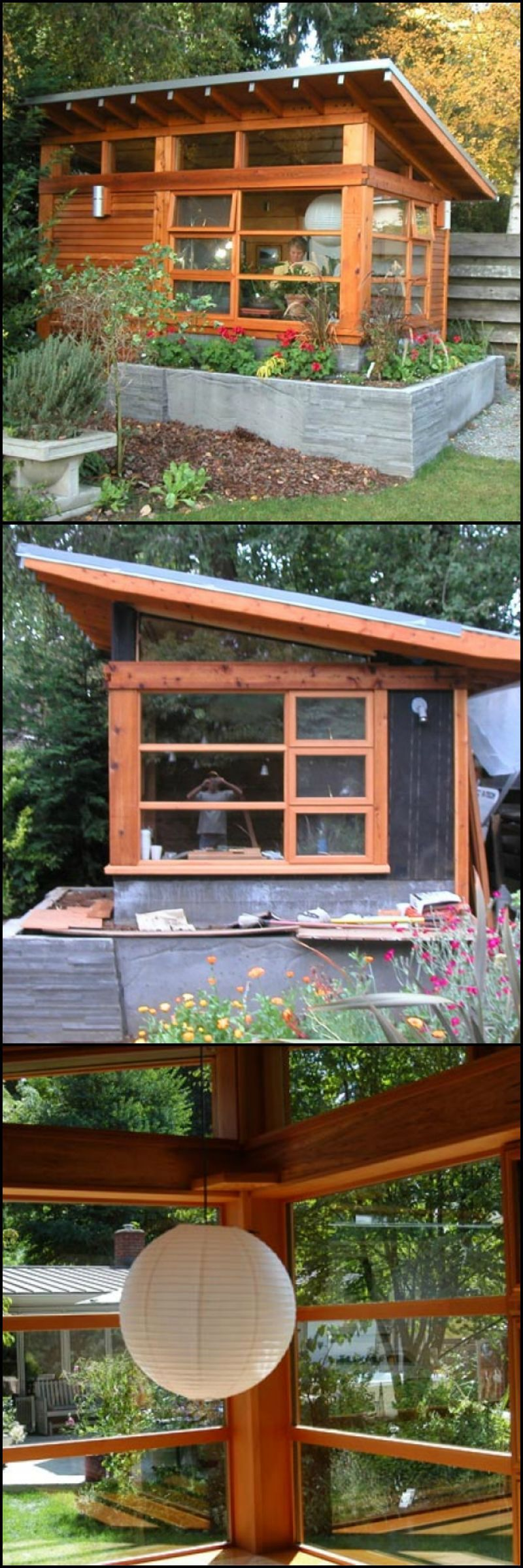Framing A 10x10 Room: The Designer Who Imagined And Built This Structure Had