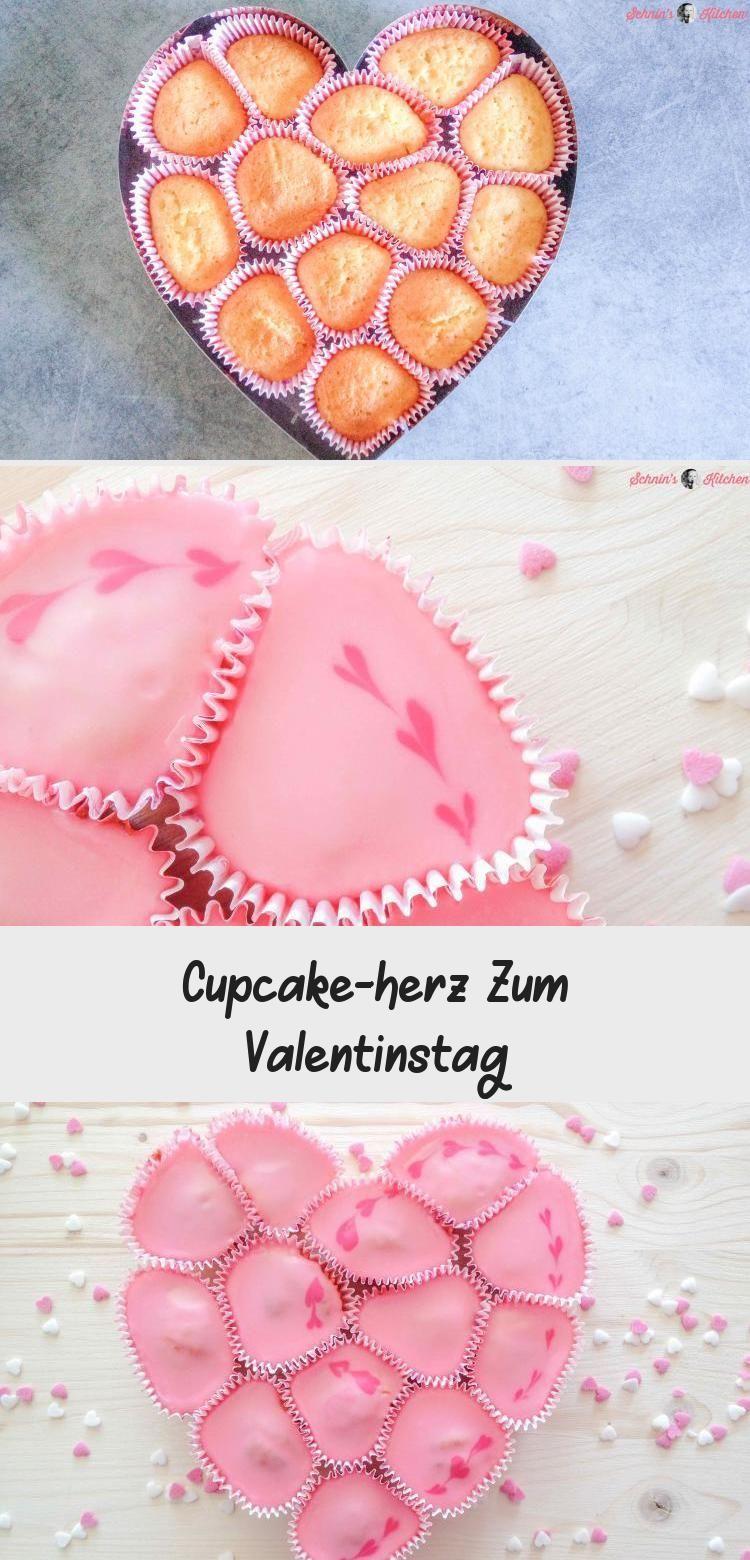 Photo of Cupcake-Herz-Kuchen für Valentinstag, Muttertag oder Hochzeit – süße Cupcakes…
