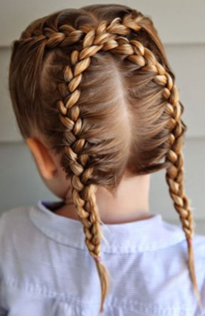 20+ Coiffure fille simple des idees