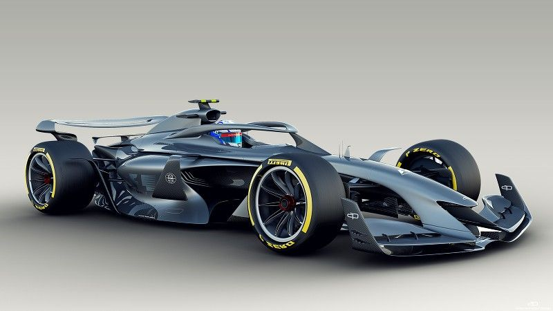 F1 Reveals 2021 Car Concepts Images From Autosport S Team Of