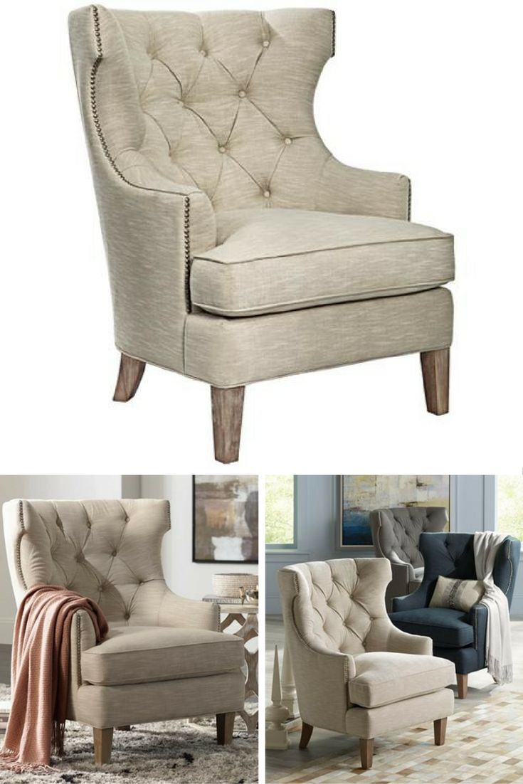 Reese Studio Oatmeal High Back Accent Chair 8g308 Lamps Plus In 2020 High Back Accent Chairs Accent Chairs Chair