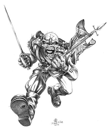 Pin By Rick Banks On Derek Riggs Eddie Iron Maiden Tattoo Iron Maiden Eddie Iron Maiden Posters