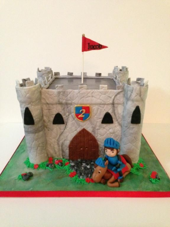 Cake Making Classes Scotland : Design Your Own Castle Cake Medieval castle, Cake and ...