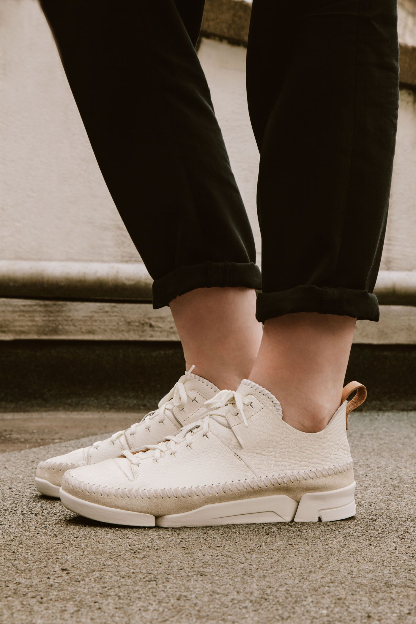 64515beea9b18b Trigenic Flex in white nubuck #ClarksOriginals #Womens #Clarks #SS15  #Trigenic #ClarksTrigenic #Sportwear #SportsLuxe #Shoes