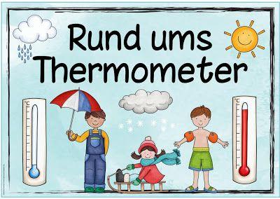Ideenreise Themenplakat Thermometer Ideas Grundschule