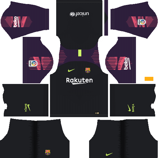 f9b1b11198d Dream League Soccer Kits Barcelona 2018-19 Kit 512x512 URL - Goalkeeper