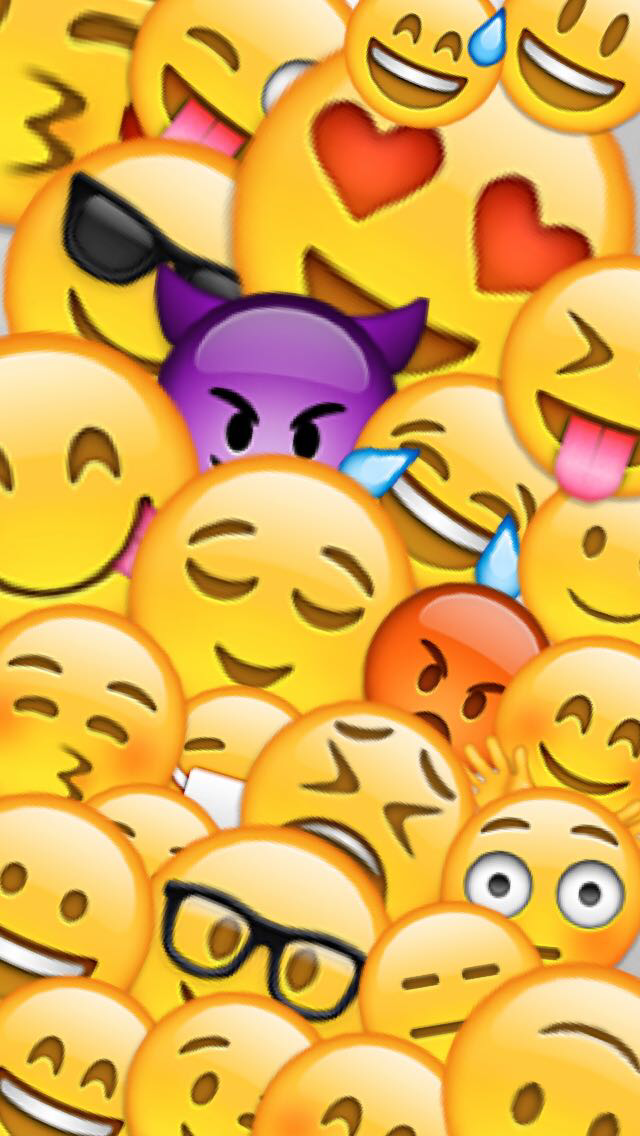 Emoji Wallpaper That I Created Of Of Snapchat Feel Free To